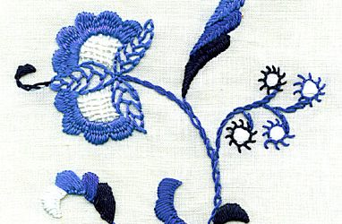 Shabby Chic Decor Resources | Embroidered Items