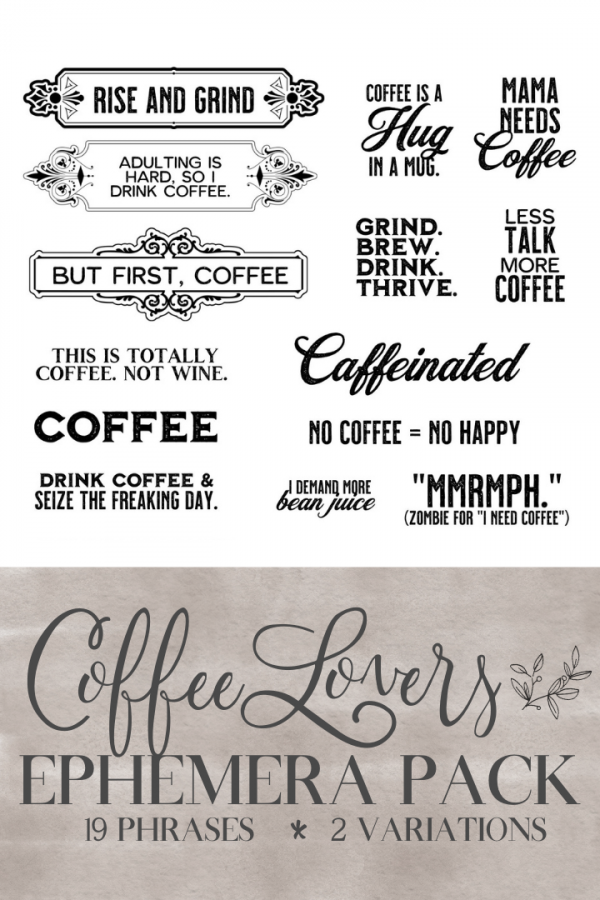 Coffee Ephemera Pack