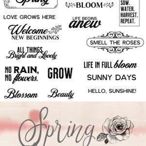 Spring Ephemera Pack